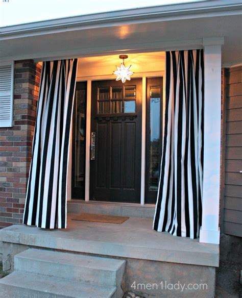 Diy Outdoor Curtains Diy Outdoor Curtains