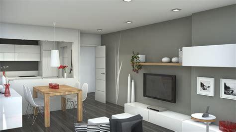 Small Open Floor Plan Kitchen Living Room web blophomers