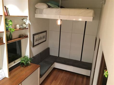 Rv Storage Building Plans Modern Australian Tiny House On Wheels With A Bed Lift