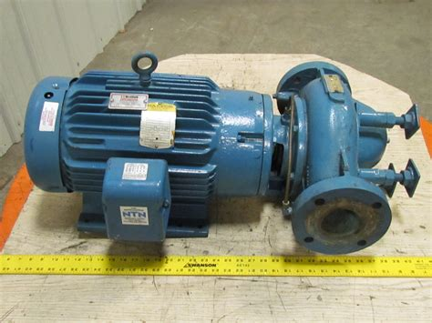 Paco 3x3x7 Vertical In Line Centrifugal Pump Close Coupled