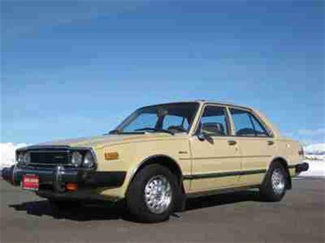 vintage honda accord purchase used 1980 honda accord 4 door sedan actual mile 3