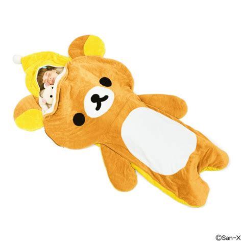 Boneka Rilakkuma Bag tidur lebih nyenyak dengan 5 sleeping bag lucu dari jepang