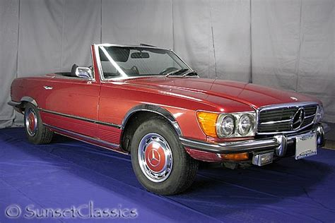 used mercedes convertible 1973 mercedes 450sl convertible for sale