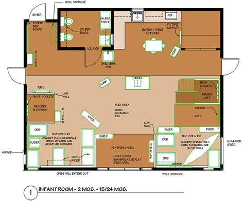 infant classroom floor plan infant room floorplan montessori infant
