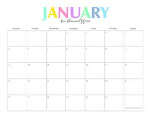 calendar template january 2015 free printable january 2015 calendar template
