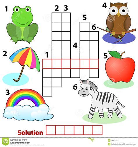 actividades para ninos de espanol crucigramas para ni 241 os buscar con google martin