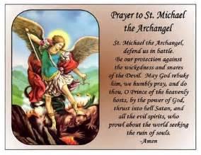 st. michael the archangel prayer magnet | ebay