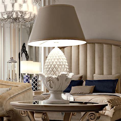 amazing engraved white wooden table lamp  elegant living room design ideas twipik
