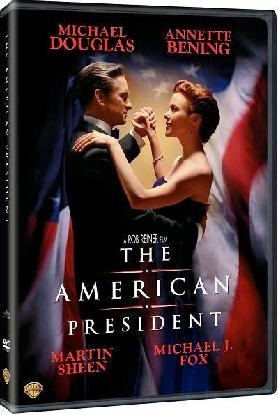 Cover Bening The American President By Rob Reiner Michael Douglas