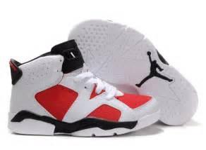 kid jordans children air 6 white black shoes aj kidsshoes0117 us8 8 5 9 9 5 10 11 12 12
