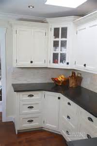 attractive Black And White Kitchen #1: willows_white_kitchen_004.jpg