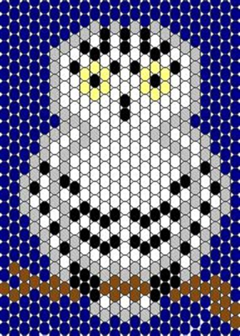 owl pony bead pattern seed bead patterns on perler fuse