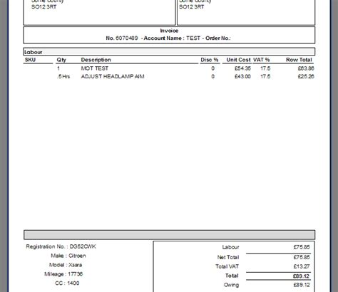 band invoice template invoice bands