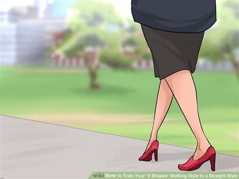 how to your to walk you how to your v shaped walking style to a style
