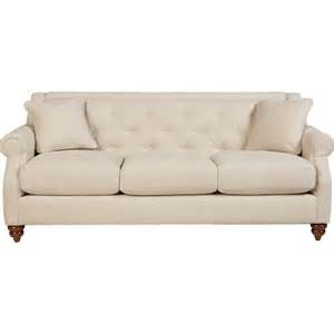 Leather Sofas Aberdeen La Z Boy Aberdeen Traditional Sofa With Tufted Seatback Great American Home Store Sofa