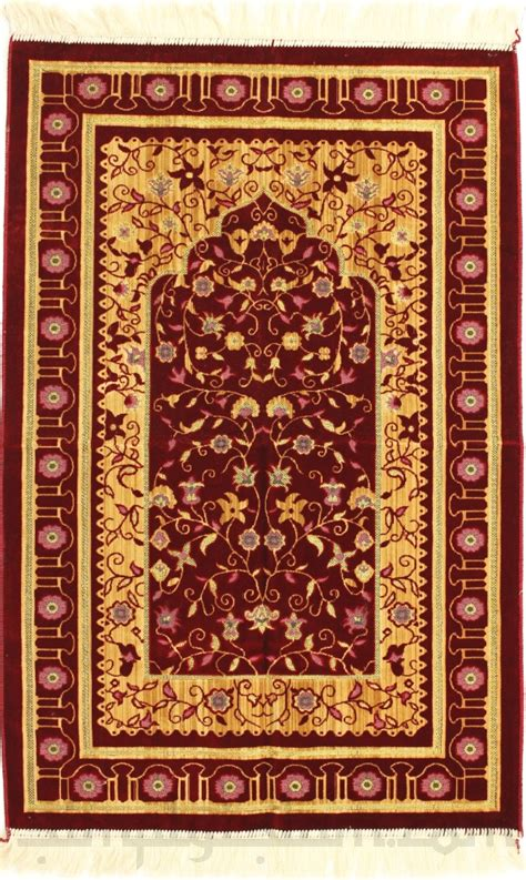 How To Make A Prayer Rug by Large And Luxurious Premium Turkish Prayer Mat Janamaz