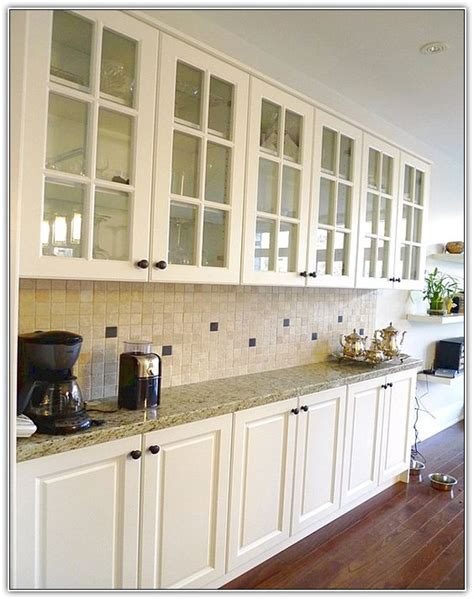 shallow cabinets instead of buffet adds storage space