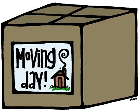 Moving Clipart - clipart moving day pencil and in color