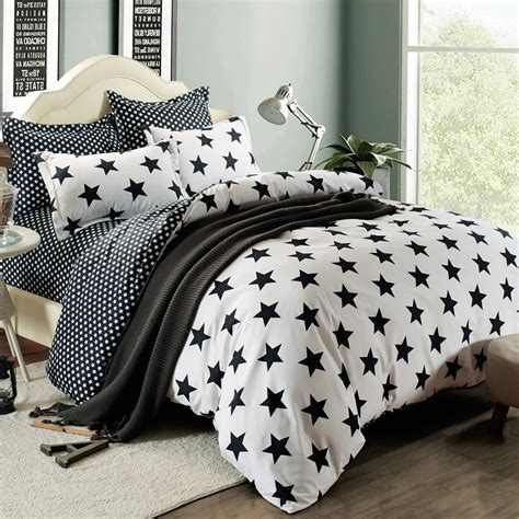 star comforter 11 best black and white duvet covers that will make your