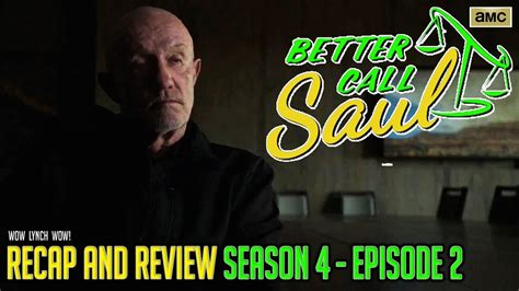 call saul season  episode  recap review youtube