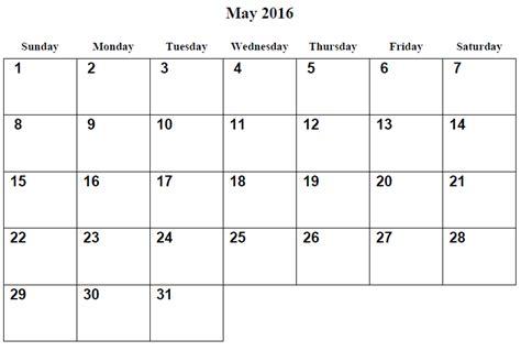 may 2016 calendar image gallery may 2016 calendar uk