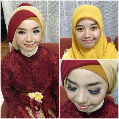 tutorial make up wisuda hijab ini vindy yang ajaib rias makeup natural dan hijab wisuda