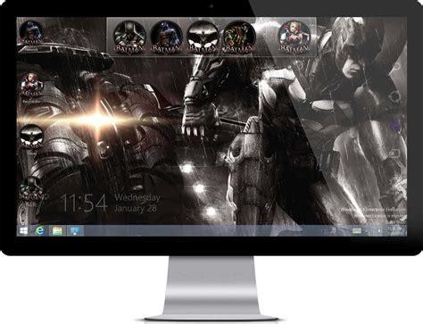 the dark knight themes for windows 10 batman arkham knight windows 7 theme