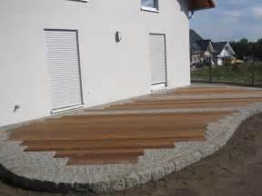 stein terrasse holzbau garten und landschaftsbau fink