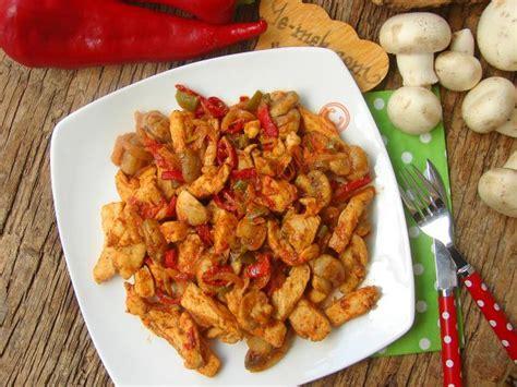 mantarli tavuk sote lezzet tanesi yemek tarifleri acılı mantarlı tavuk sote nasıl yapılır 11 12 resimli