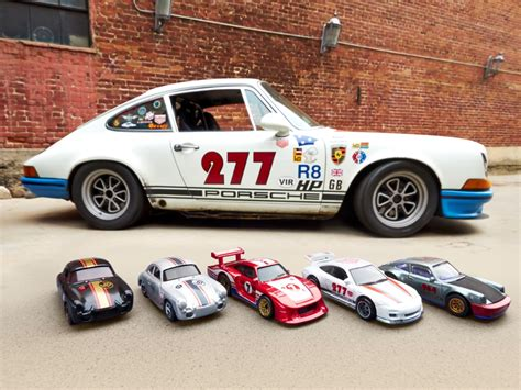 Hot Wheels Porsche by Magnus Walker Porsches Immortalized In New Hot Wheels Cars