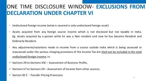 section 57 of income tax act undisclosed foreign income and assets and imposition of