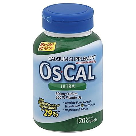 Os Cal buy os cal 174 ultra 120 count calcium supplement with vitamin d3 caplets from bed bath beyond