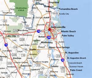 map of jacksonville fl free printable maps