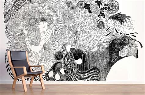wallpaper vinyl design wip 08 mariella fasson work in progress mural