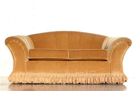 fauteuil sixties velours vintage sixties driezitsbank goudgeel velours dehuiszwaluw