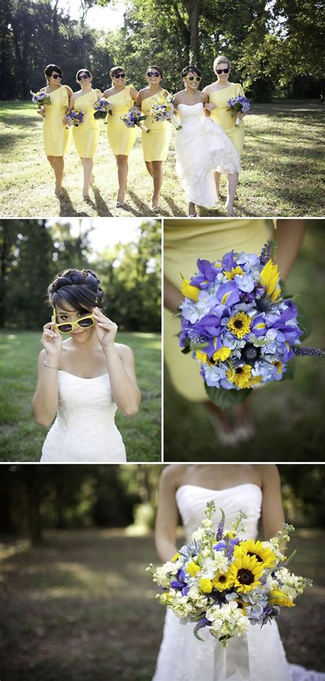 best 25 yellow purple wedding ideas on