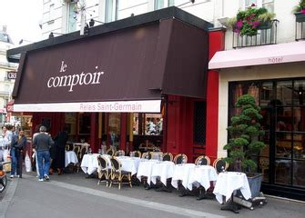 le comptoir odeon whitings writings bistros le comptoir du relais