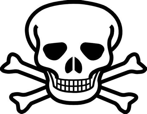Skull And Crossbones Clipart skull and crossbones clip at clker vector clip