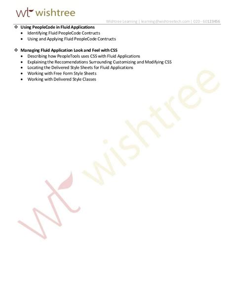 oracle tutorial in mumbai oracle fluid user interface rel 8 54 training by wishtree