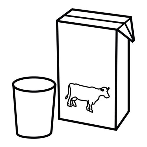 imagenes de sorpresas de tarro de leche dibujos para colorear de una caja de leche imagui