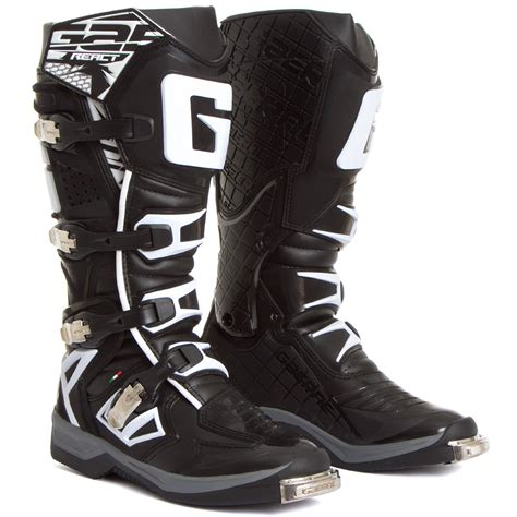 black dirt bike boots new gaerne 2017 mx g react euro dirt bike racing g react