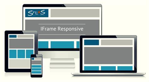 html responsive design iframe como hacer un iframe responsive sinlios