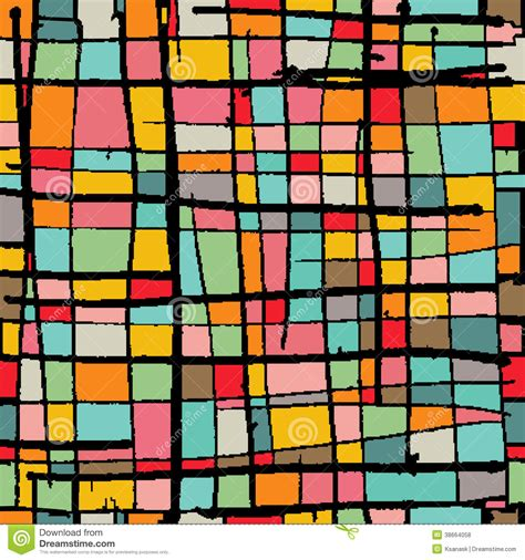 abstract mosaic pattern bright mosaic background stock vector image of abstract