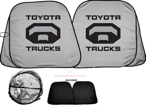 toyota trucks logo tacoma sun shade quot toyota trucks quot logo tacoma