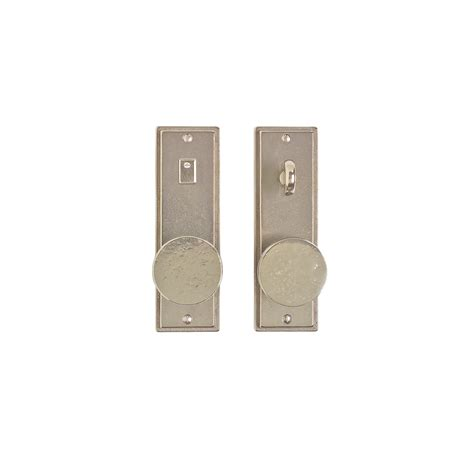 Stepped Privacy Set 2 1 2 Quot X 8 Quot Privacy Mortise Bolt Interior Door Hardware Sets