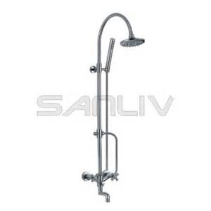 exposed shower kit with rigid riser 29805 home shower