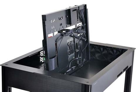 Computer Desk Chassis Lian Li To Show Dk Q2 Desk Pc Chassis At Cebit 2015 Legit Reviews