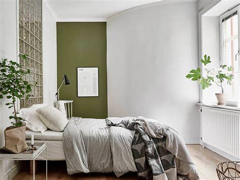 chambre mur vert vert de gris frenchy fancy