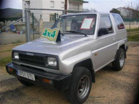 daihatsu feroza specifications daihatsu feroza 1 6 2000 auto images and specification