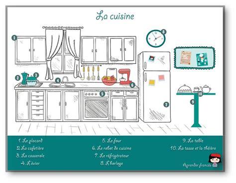vocabulaire de la cuisine les 113 meilleures images du tableau la cuisine sur